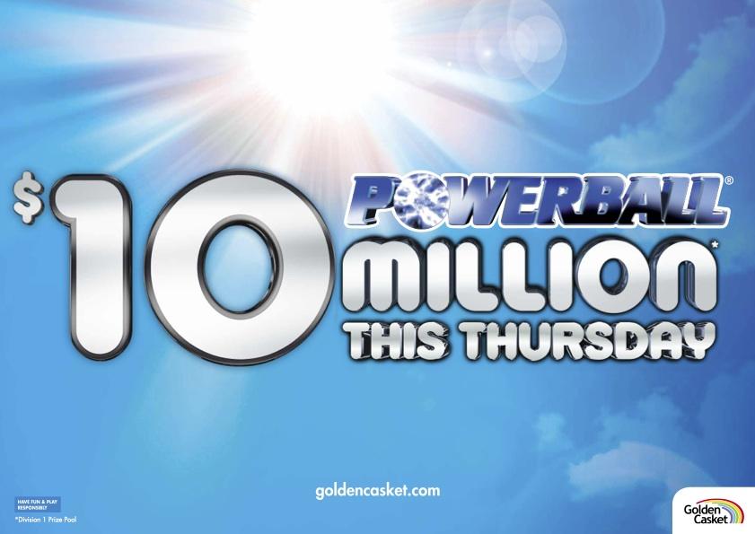 Powerball $10M Jackpot