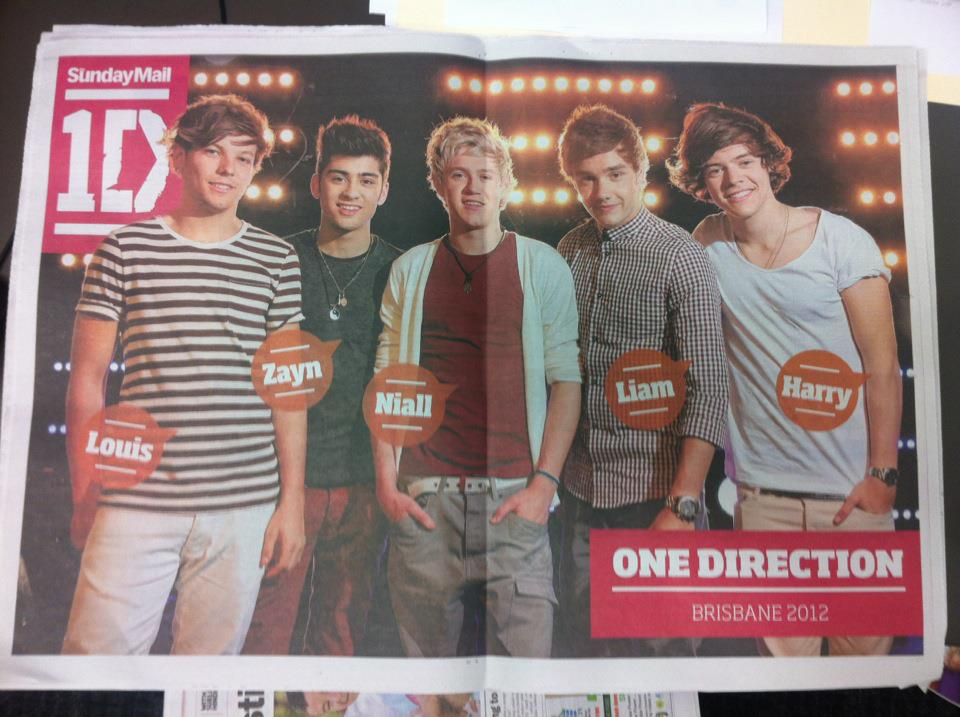 One Direction 2012 Posters One Direction Poster i...