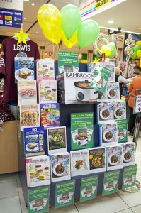 Slow Cooker Promotional Display