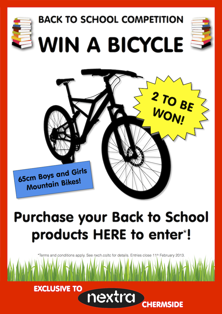 Win a Bicycle!