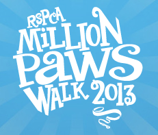 Million Paws Walk 2013