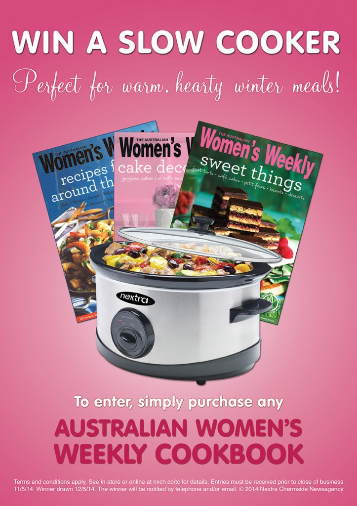 Win a Slow Cooker Poster