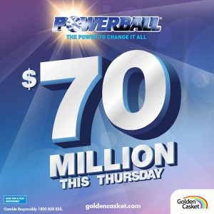 Powerball $70 Million