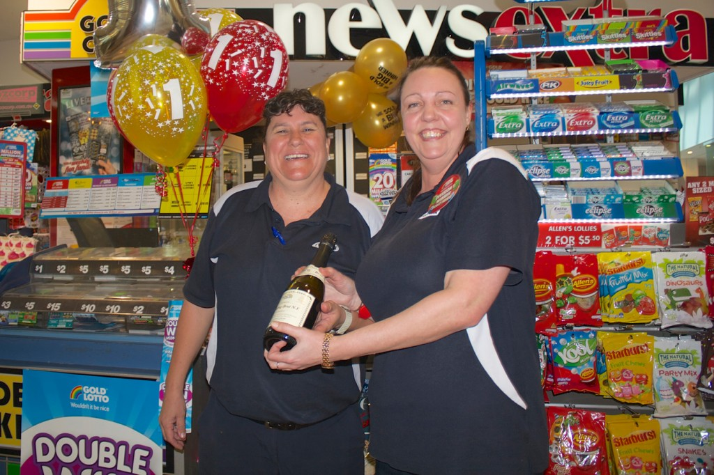 NewsExtra Chermside Lotto Winner