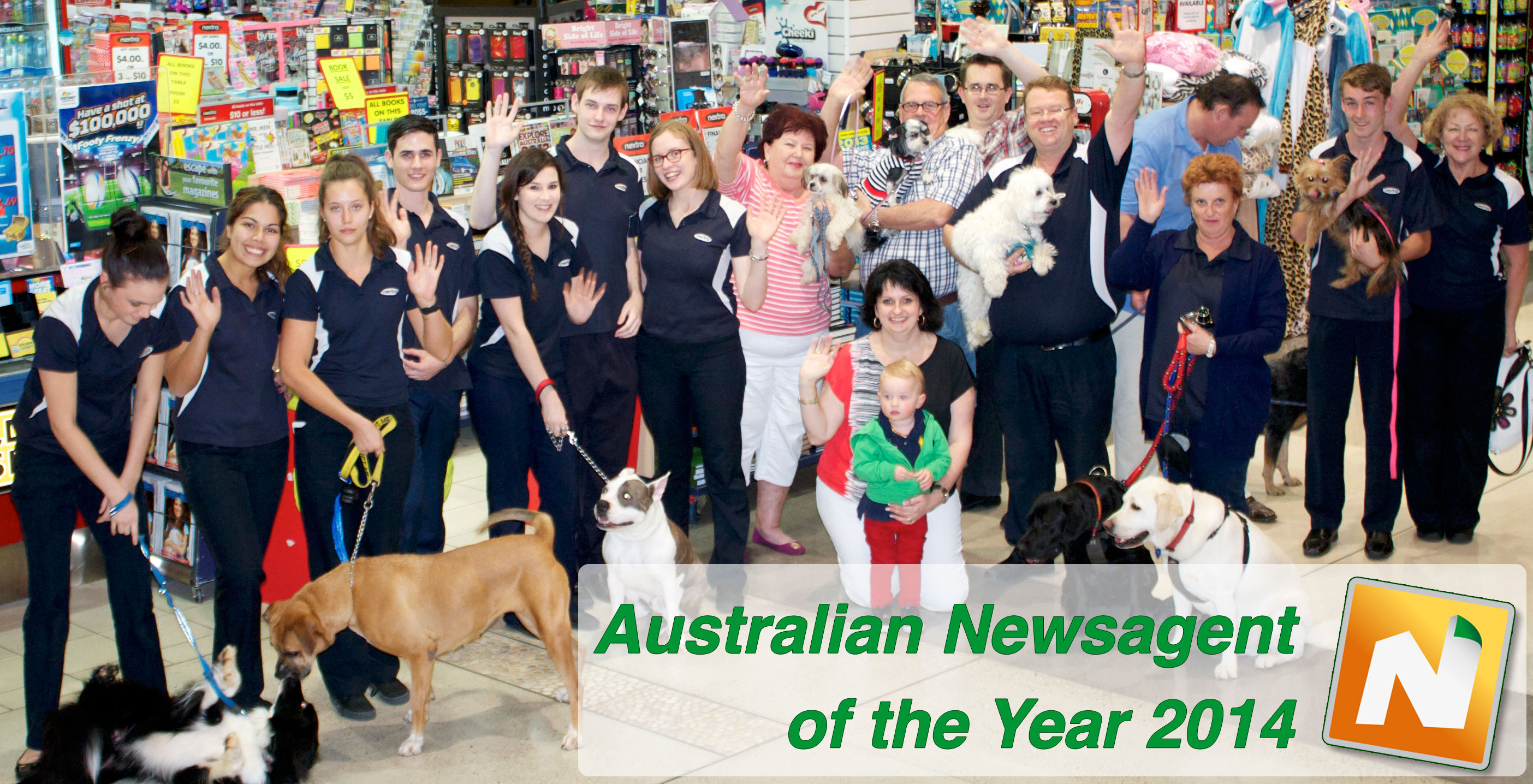 Nextra Chermside Newsagency Staff