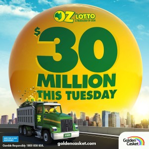 Oz Lotto $30 Million Jackpot