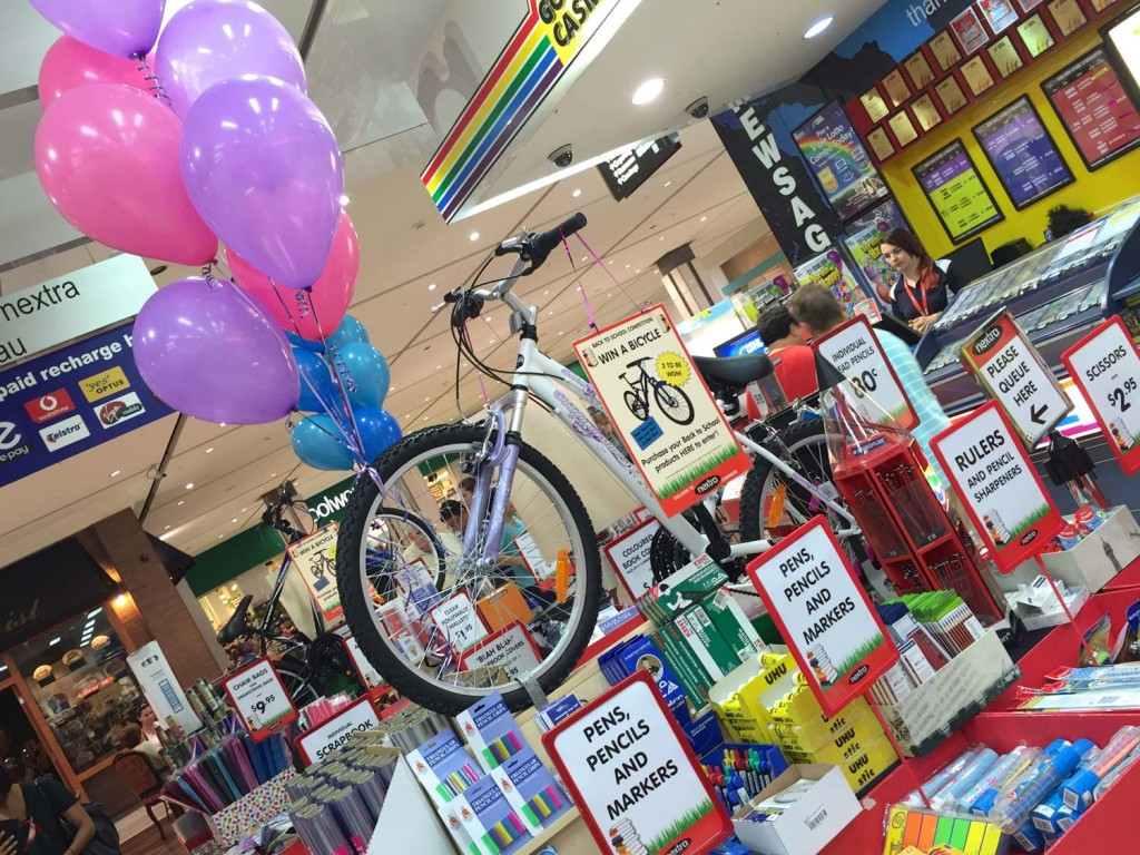 Girls' Bicycle for Back to School 2015