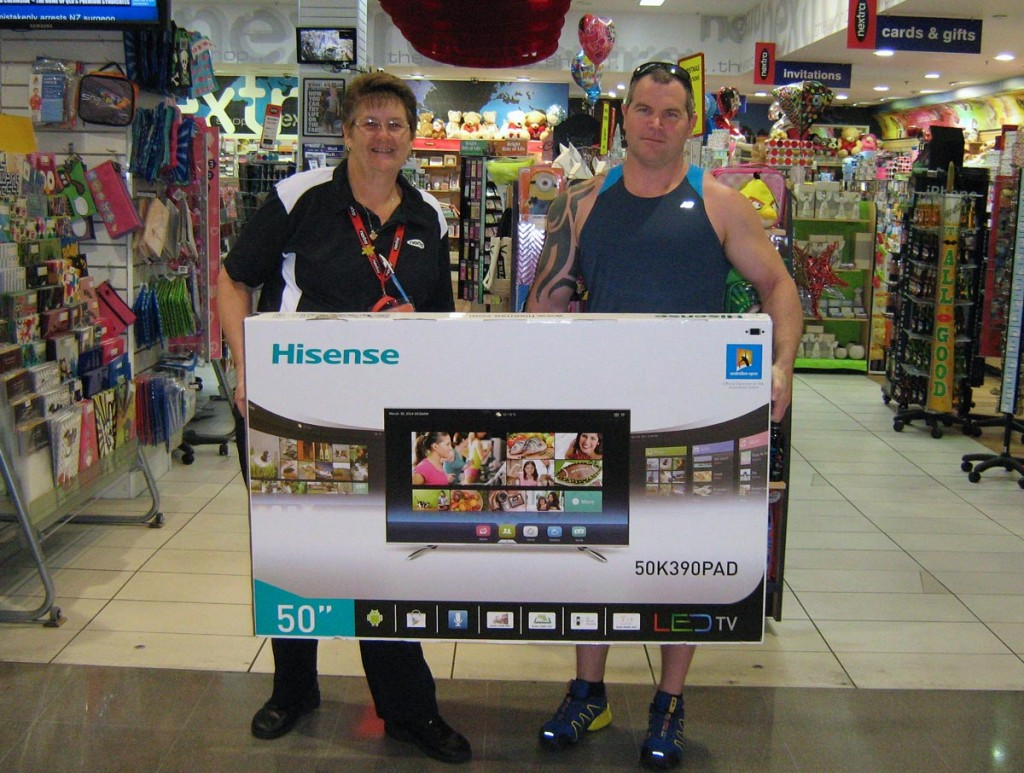 TV Winner - Dave from Aspley