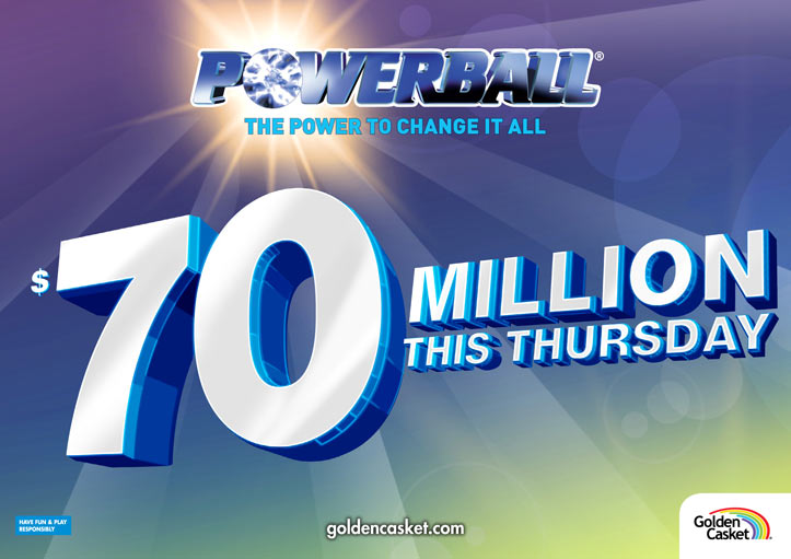 powerball  70 million jackpot